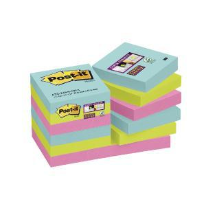 POST-IT NOTATBL MIAMI 47.6MMX47.6MM (12)