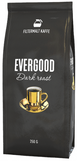 KAFFE EVERGOOD DARK ROAST 250G