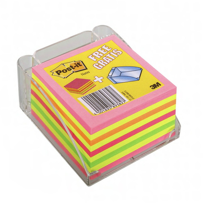 POST-IT KUBE 2028NPX ROSA 450 ARK I DISP