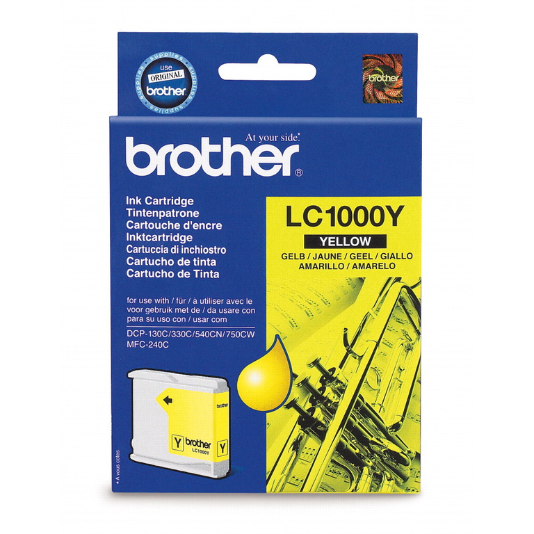BLEKK BROTHER LC1000Y F/DCP-330C YELLOW