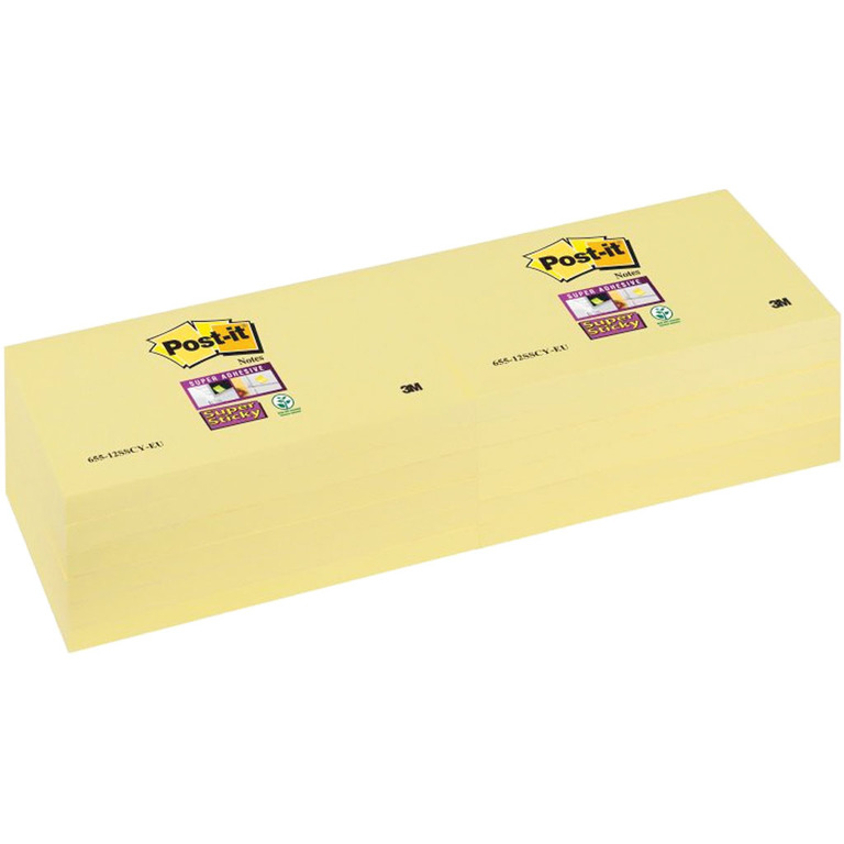 POST-IT SUPERST CANARY GUL 127X76MM