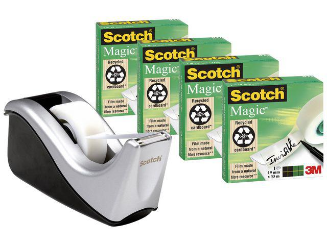 TAPEDISPENSER M/4RL TAPE SCOTCH 810