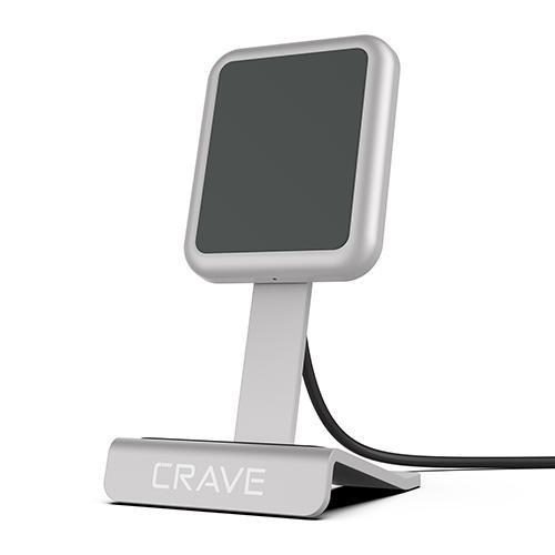 CRAVE WIRELESS CHARGER SILVER
